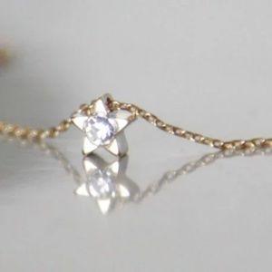 Rhinestone Star Necklace/Bracelet, Handmade 🌸